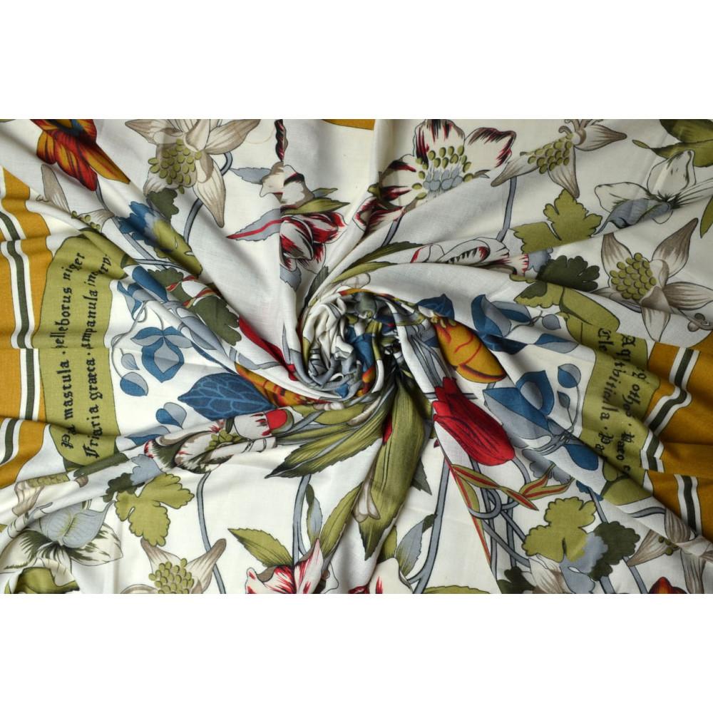 Весенний цветочный платок Лорет фото 2