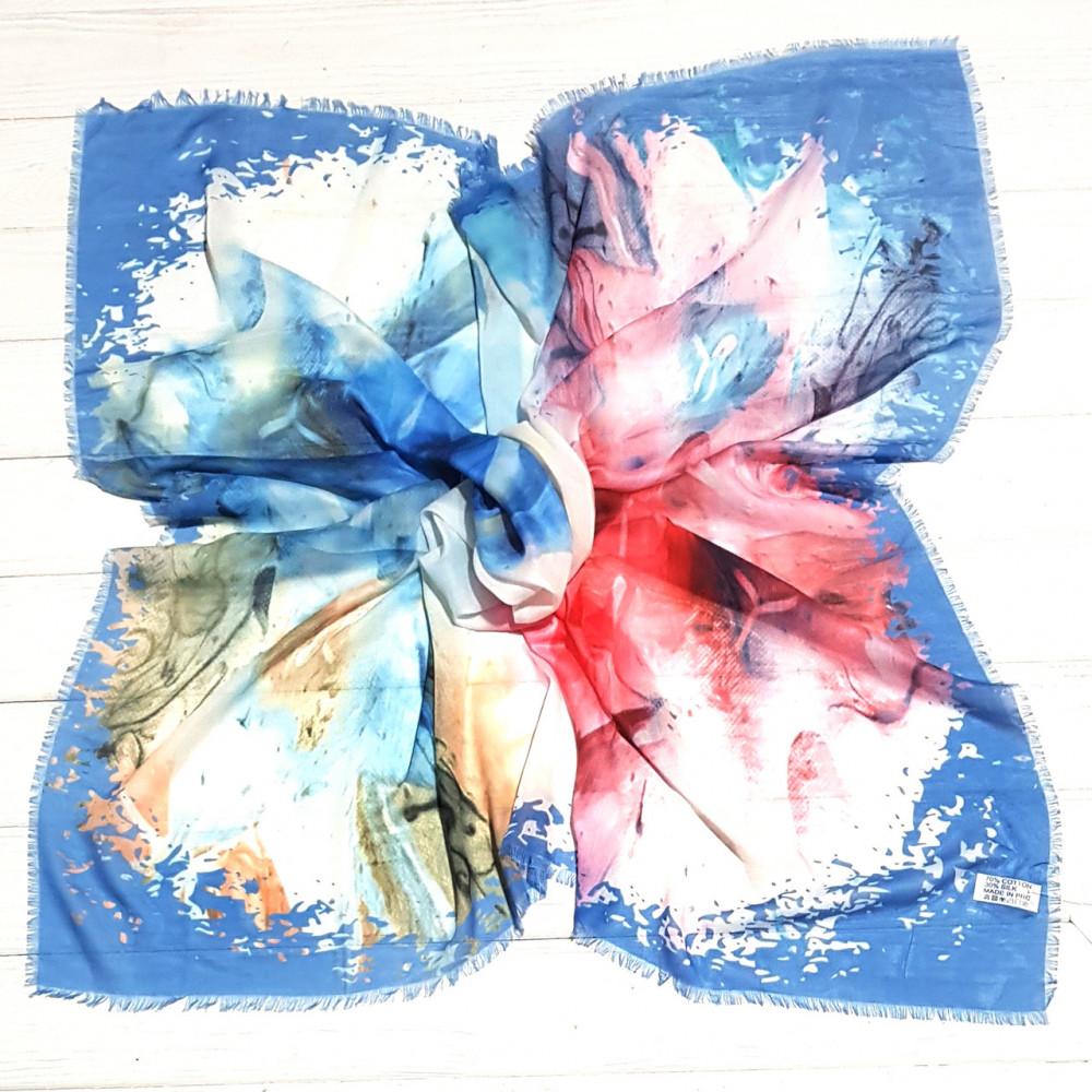 Небесно-голубой шейный платок Адажио фото 1