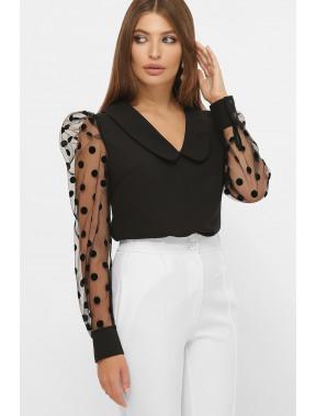 Незвична блуза з прозорими рукавами Сесіль