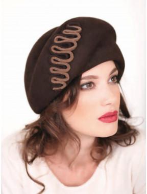 Об'ємний жіночий капелюх 306-2
