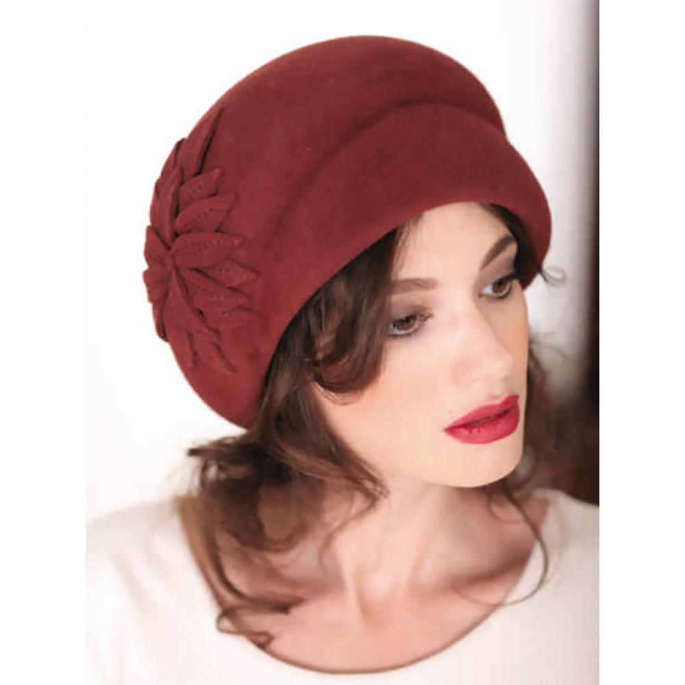 Женская шляпа с декором 306-1 фото 1