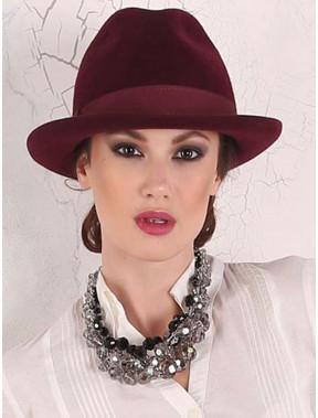 Жіночий капелюх-федора 282-1