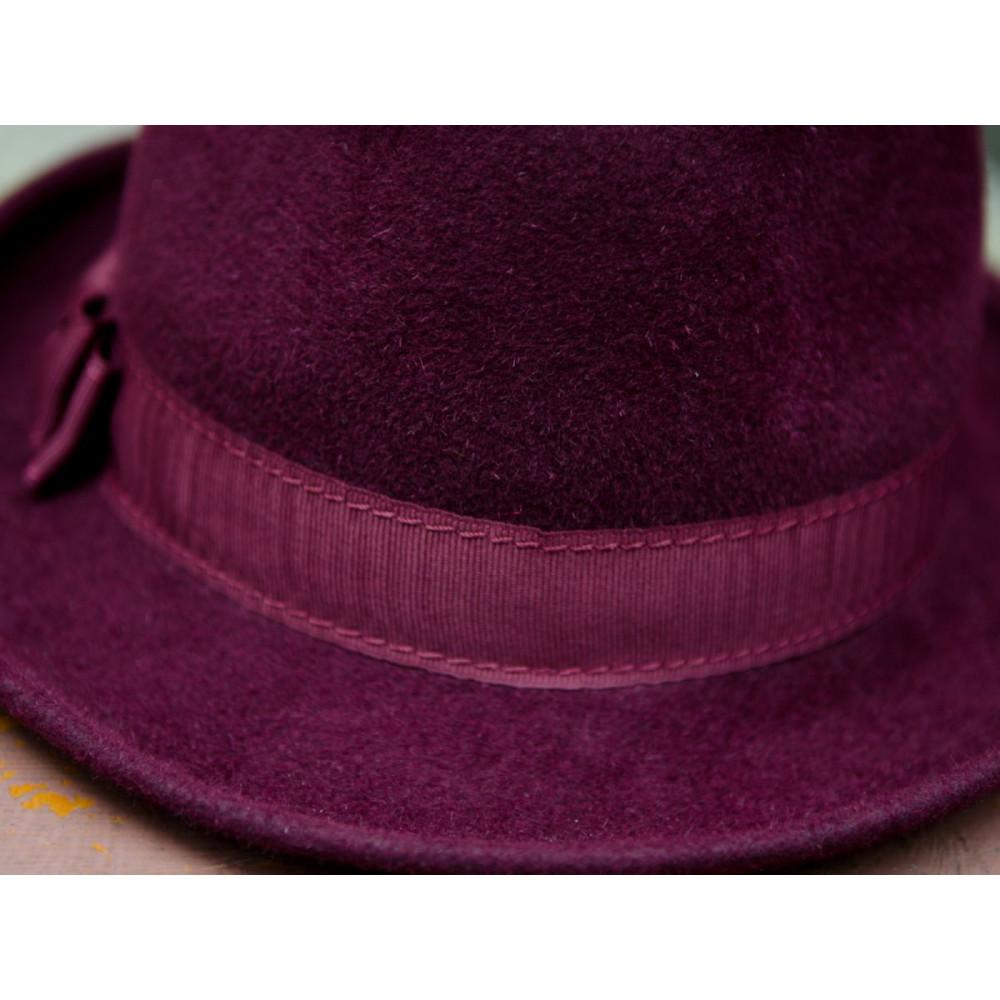 Женская шляпа-федора 282-1 фото 2