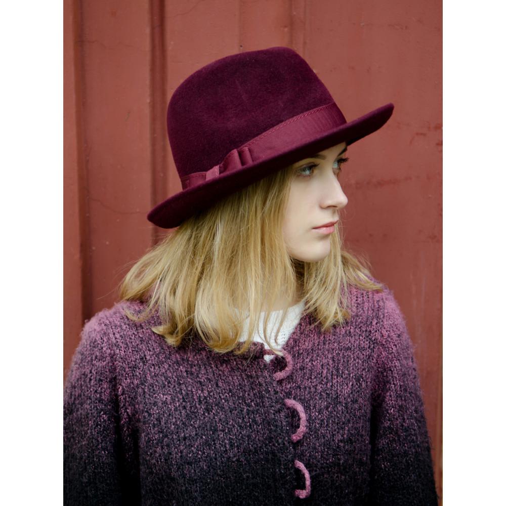 Женская шляпа-федора 282-1 фото 3