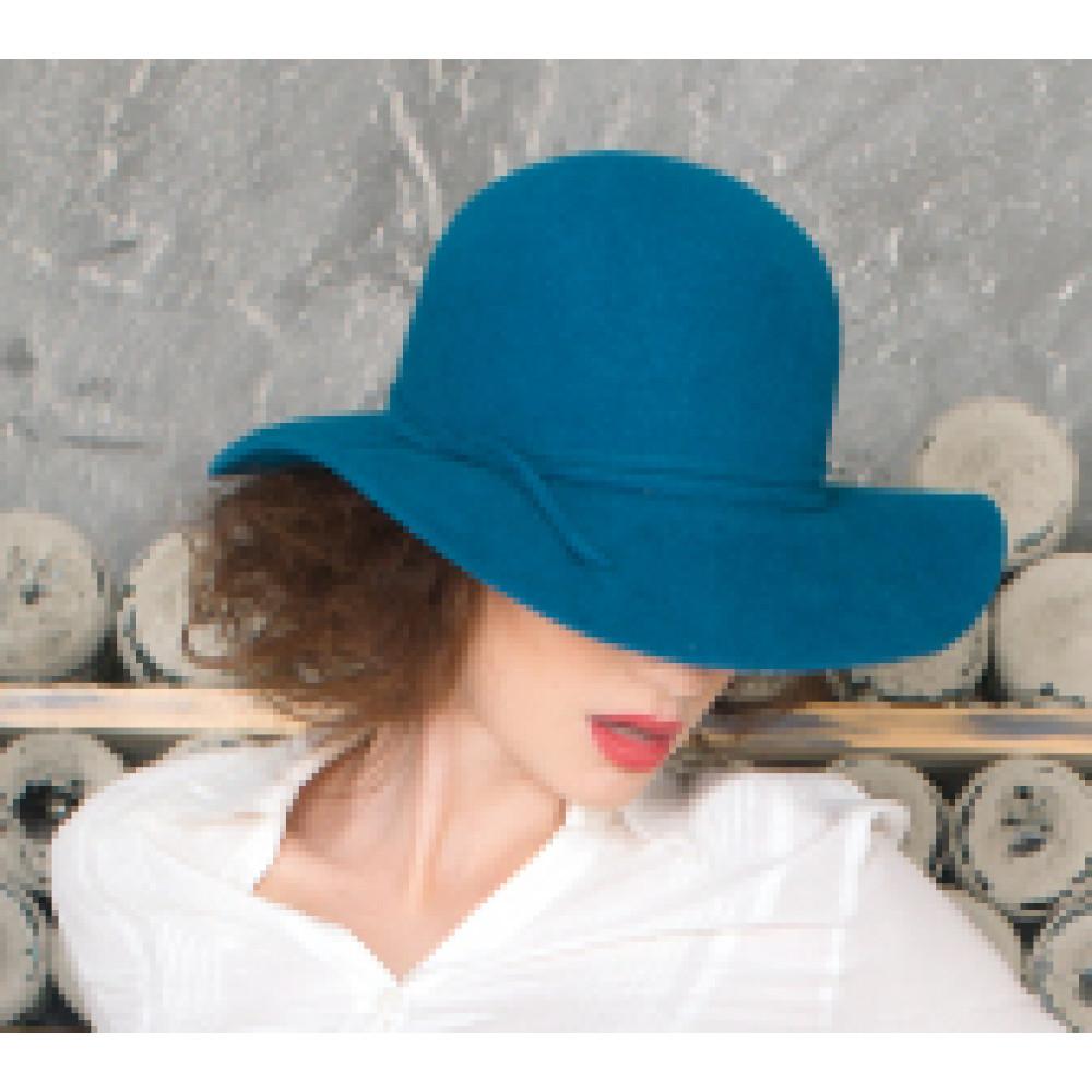 Интересная шляпа с мягкими полями 277-1 фото 2