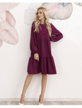 Свободное фиолетовое платье Пэтси