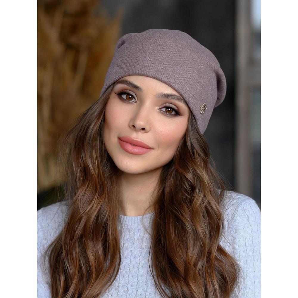Женственная розовая шапка Борджи фото 1