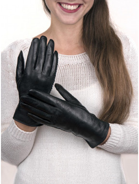 Красивые кожаные перчатки