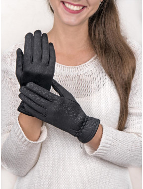 Красивые женские перчатки на флисе