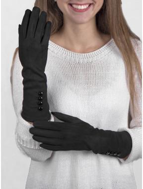 Утонченные женские перчатки с пуговицами