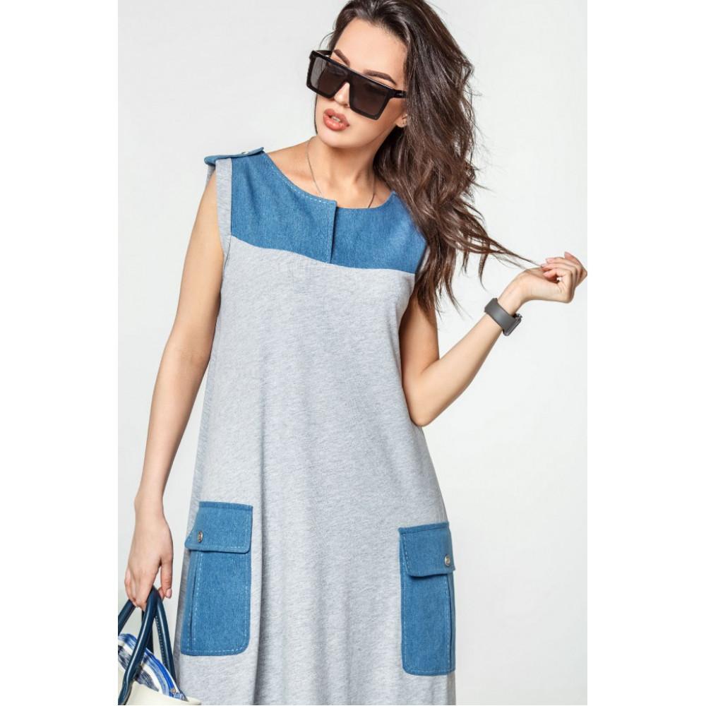 Модное платье-макси Джерси фото 4