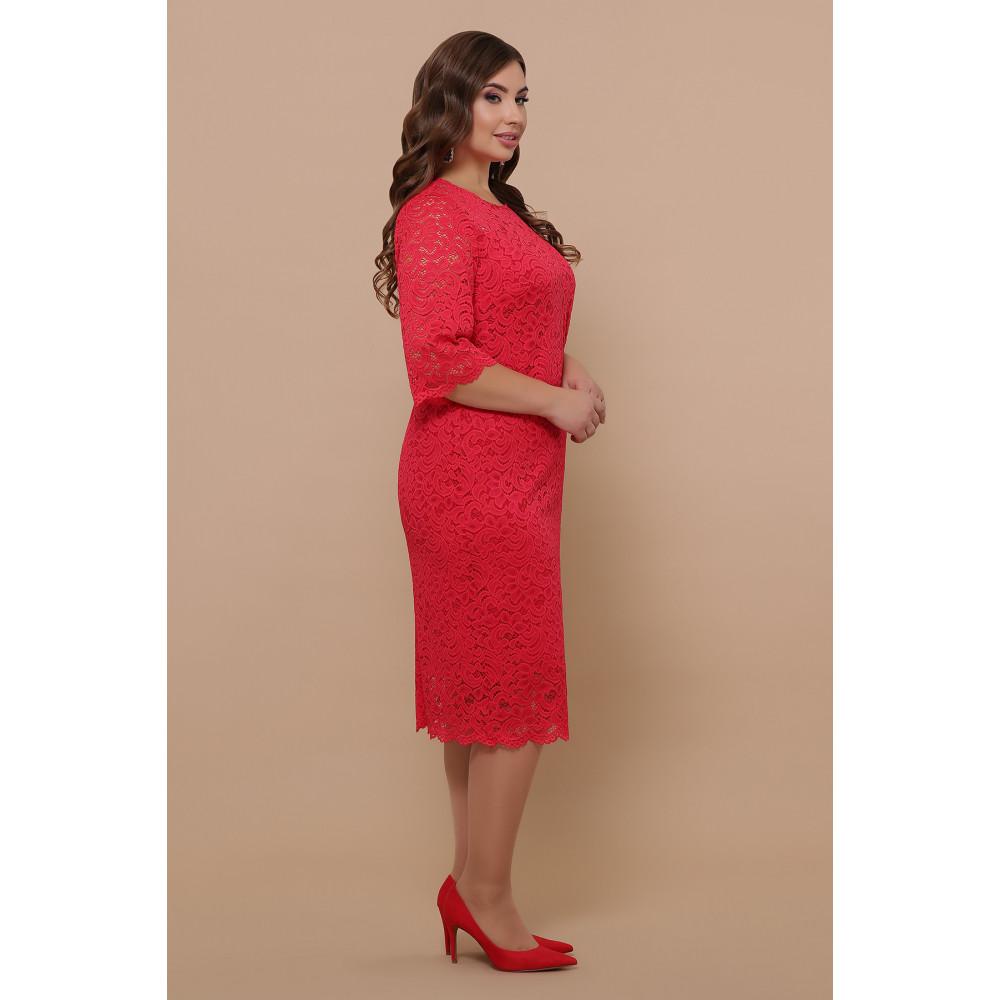 Кружевное яркое платье Сания фото 3