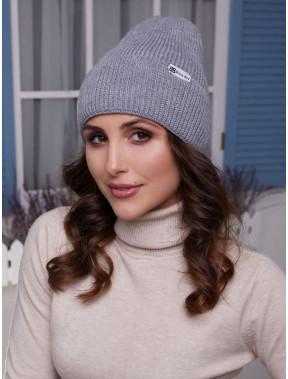 Спортивная вязаная шапка Элис