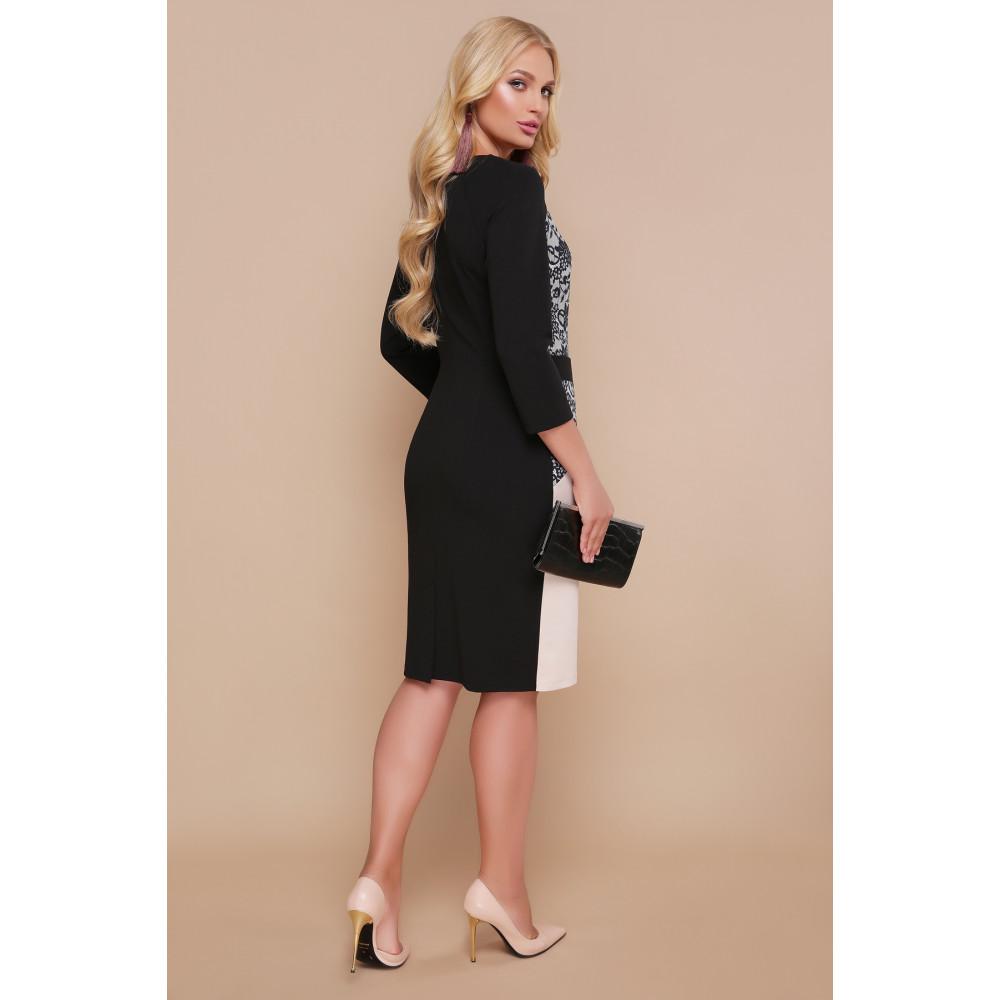 Гарна сукня з мереживним принтом Ксена фото 3