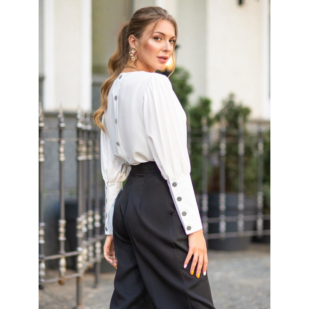 Женская блузка с пуговицами Луна фото 1