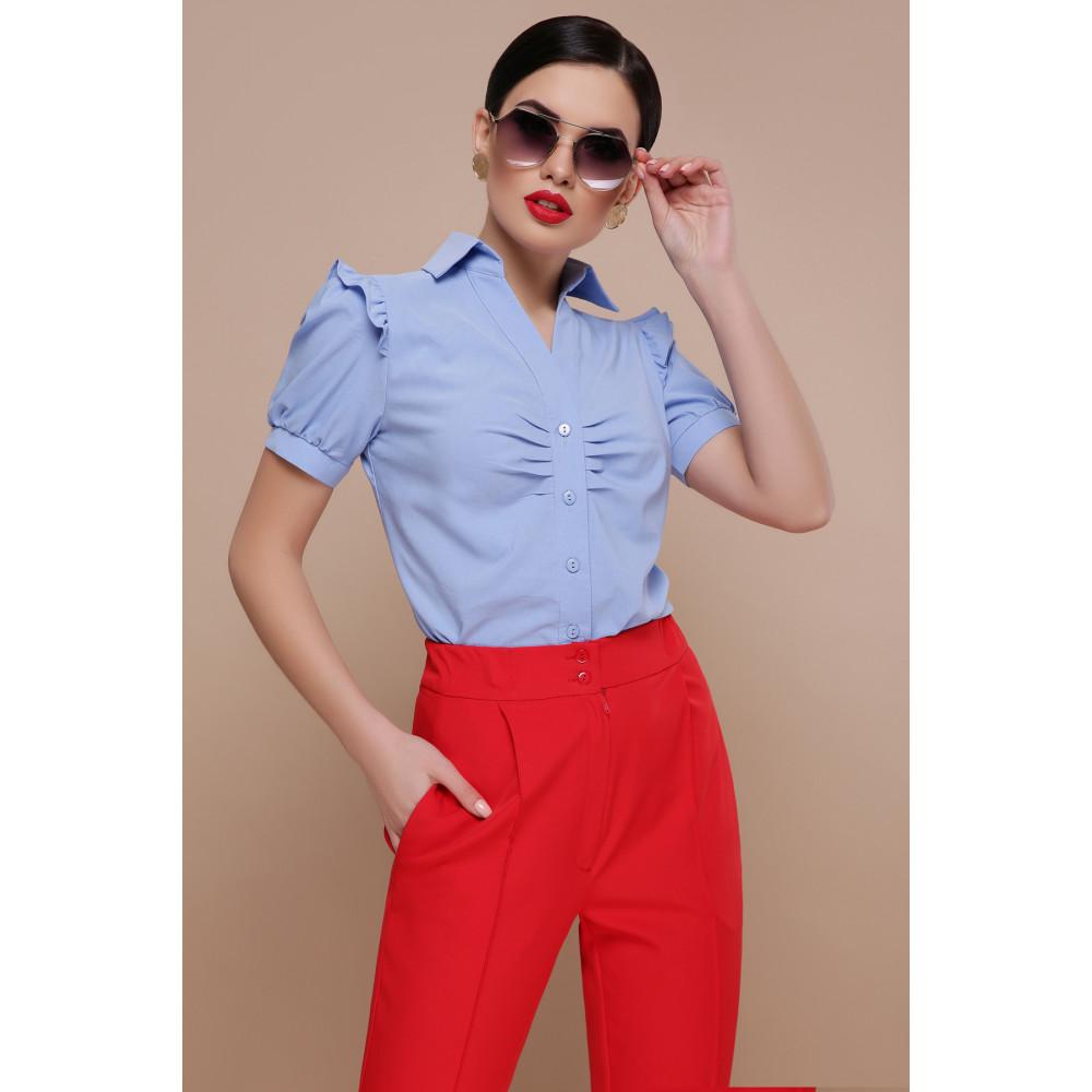 Красивая офисная блузка Маргарита фото 1