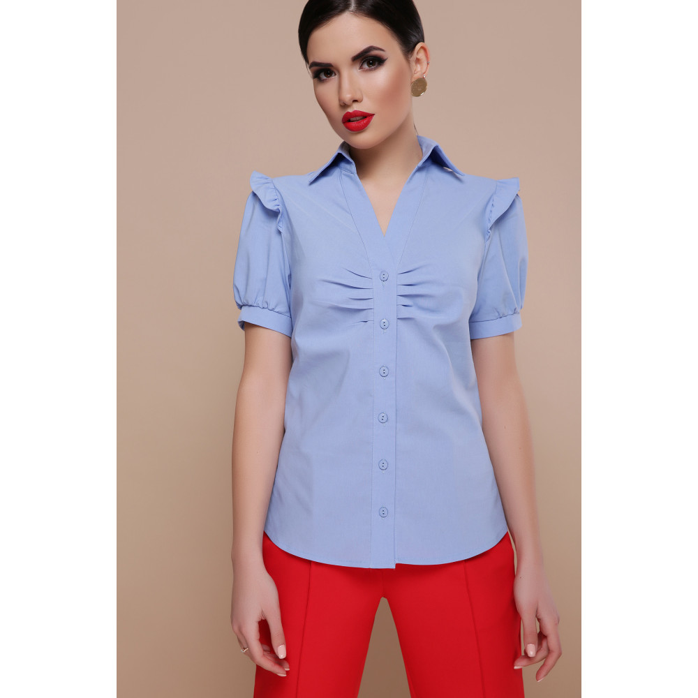 Красивая офисная блузка Маргарита фото 2