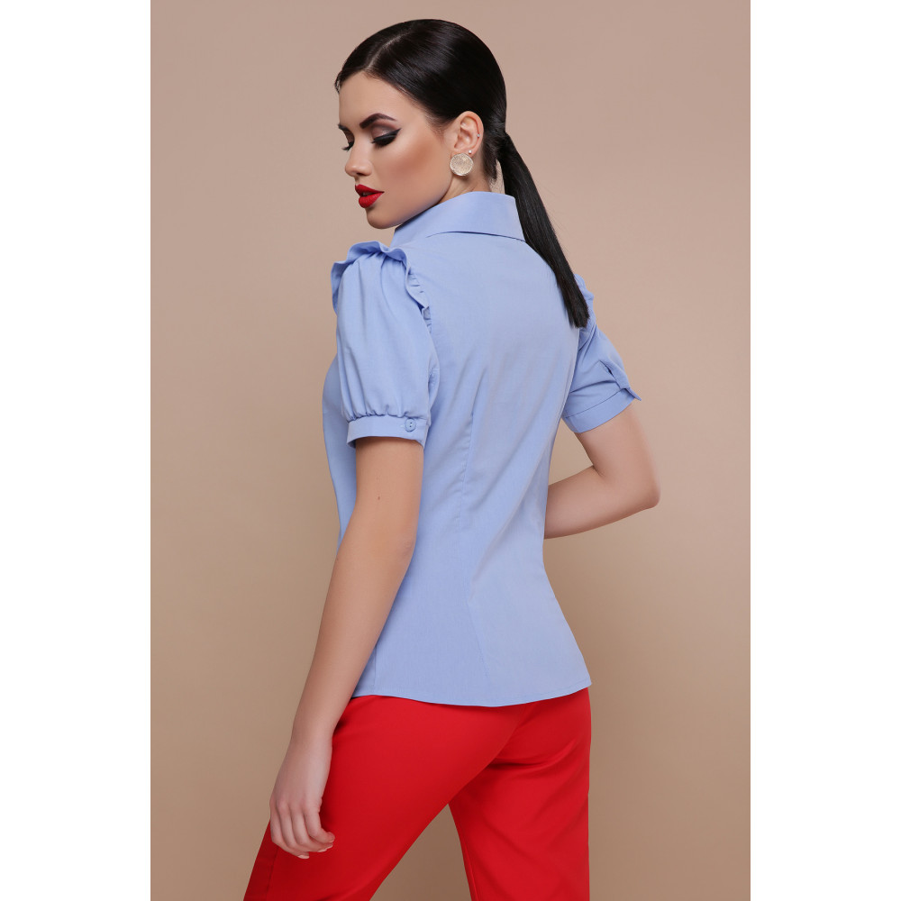 Красивая офисная блузка Маргарита фото 3