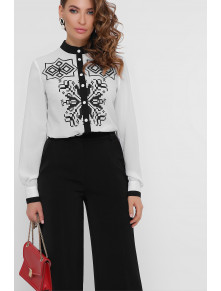 Шикарная черно-белая блузка Персея