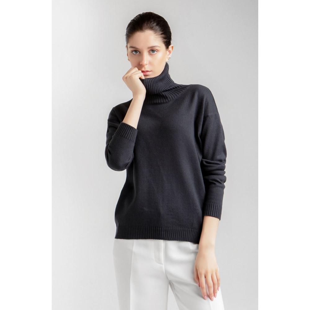 Базовый свитер с качественной пряжи фото 2