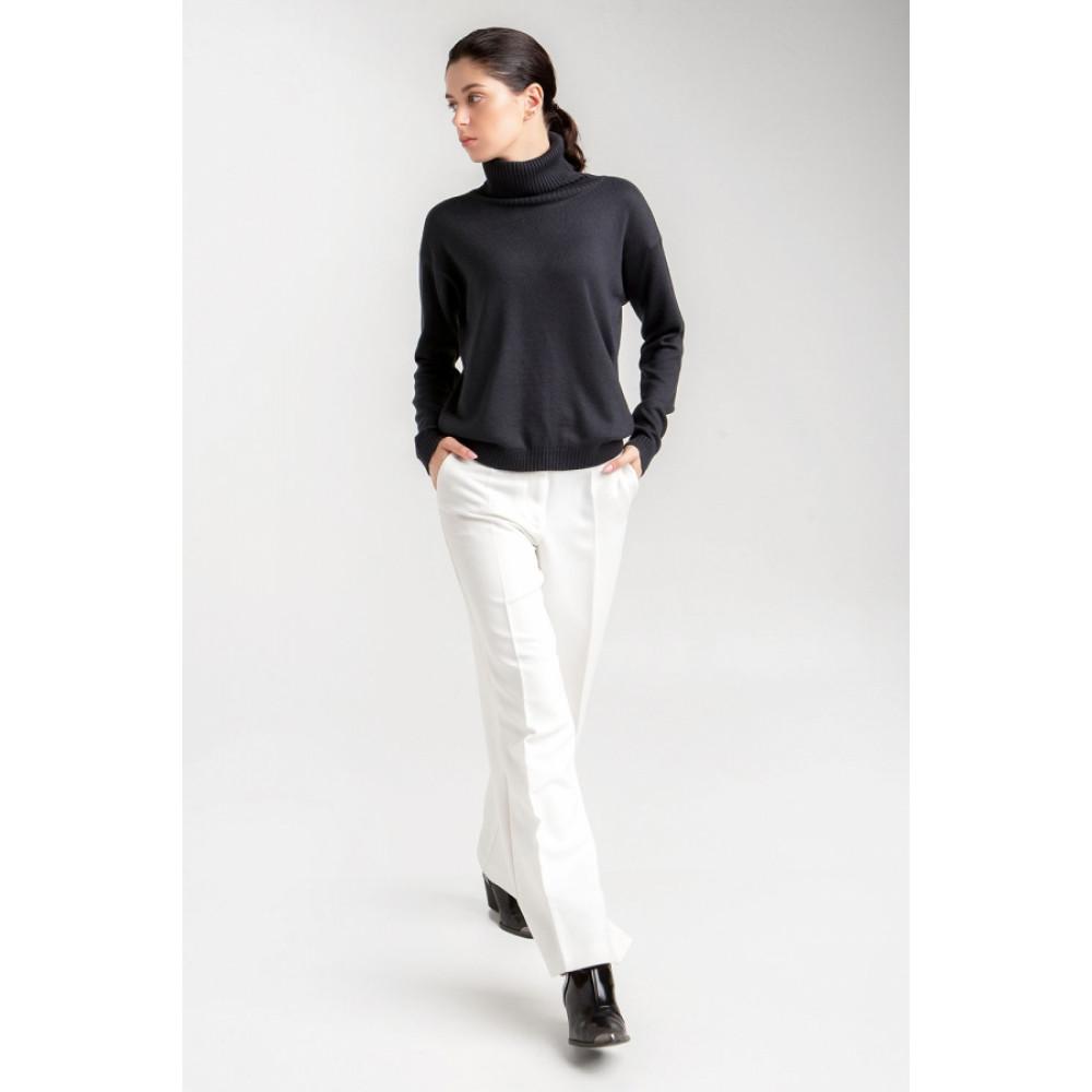 Базовый свитер с качественной пряжи фото 4