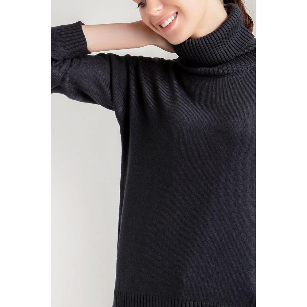 Базовый свитер с качественной пряжи фото 5