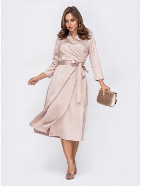 Нежное платье из атласа Беатрис