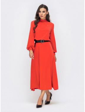Яркое теплое платье Мелисса