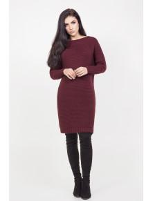 Симпатичный удлиненный теплый свитер