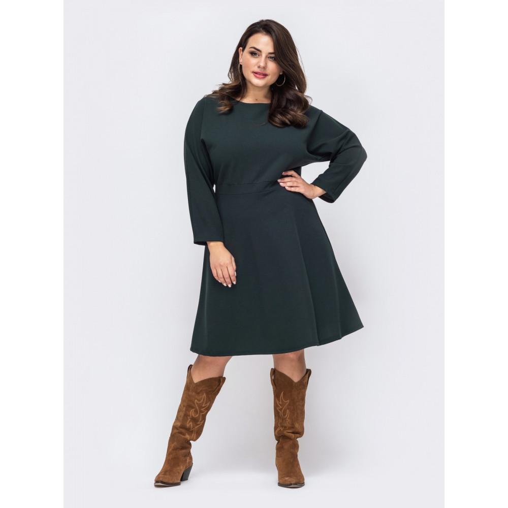 Лаконичное зеленое платье Алика фото 1
