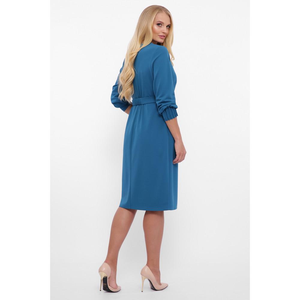 Женственное бирюзовове платье Мадина фото 2