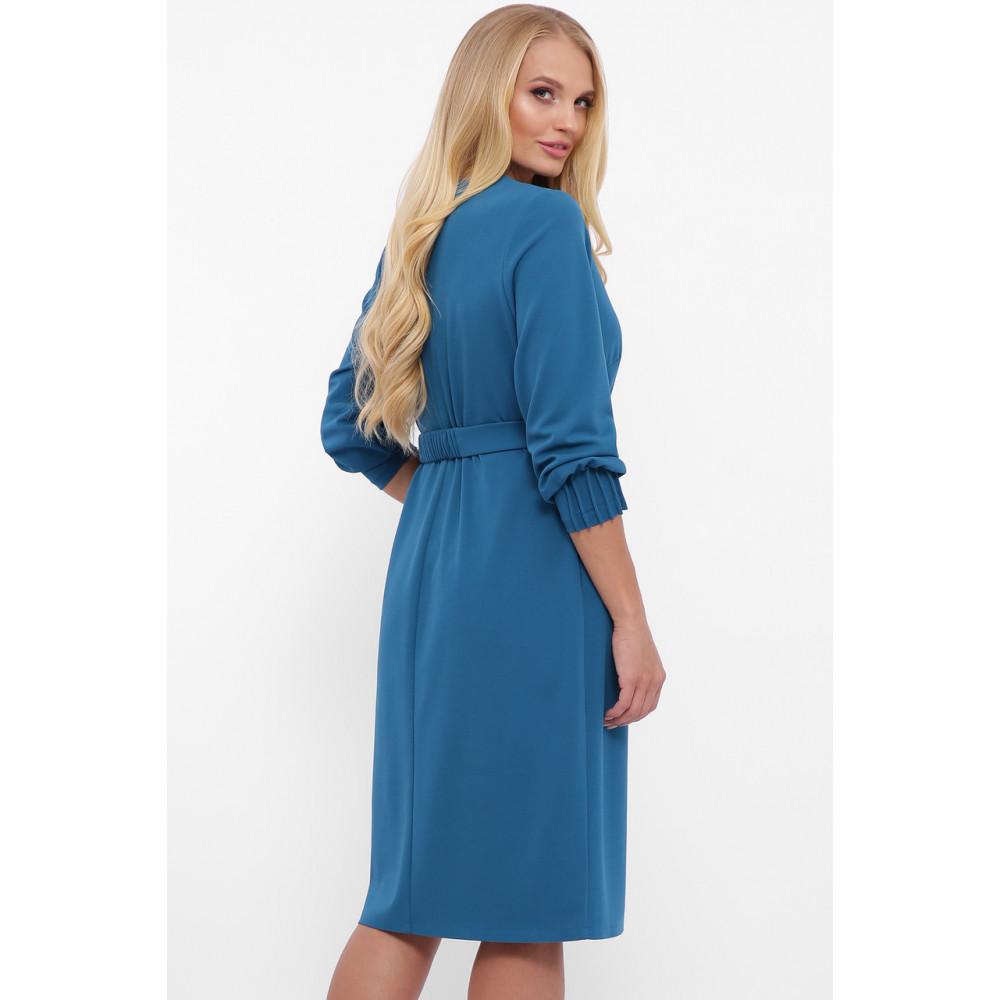 Женственное бирюзовове платье Мадина фото 4