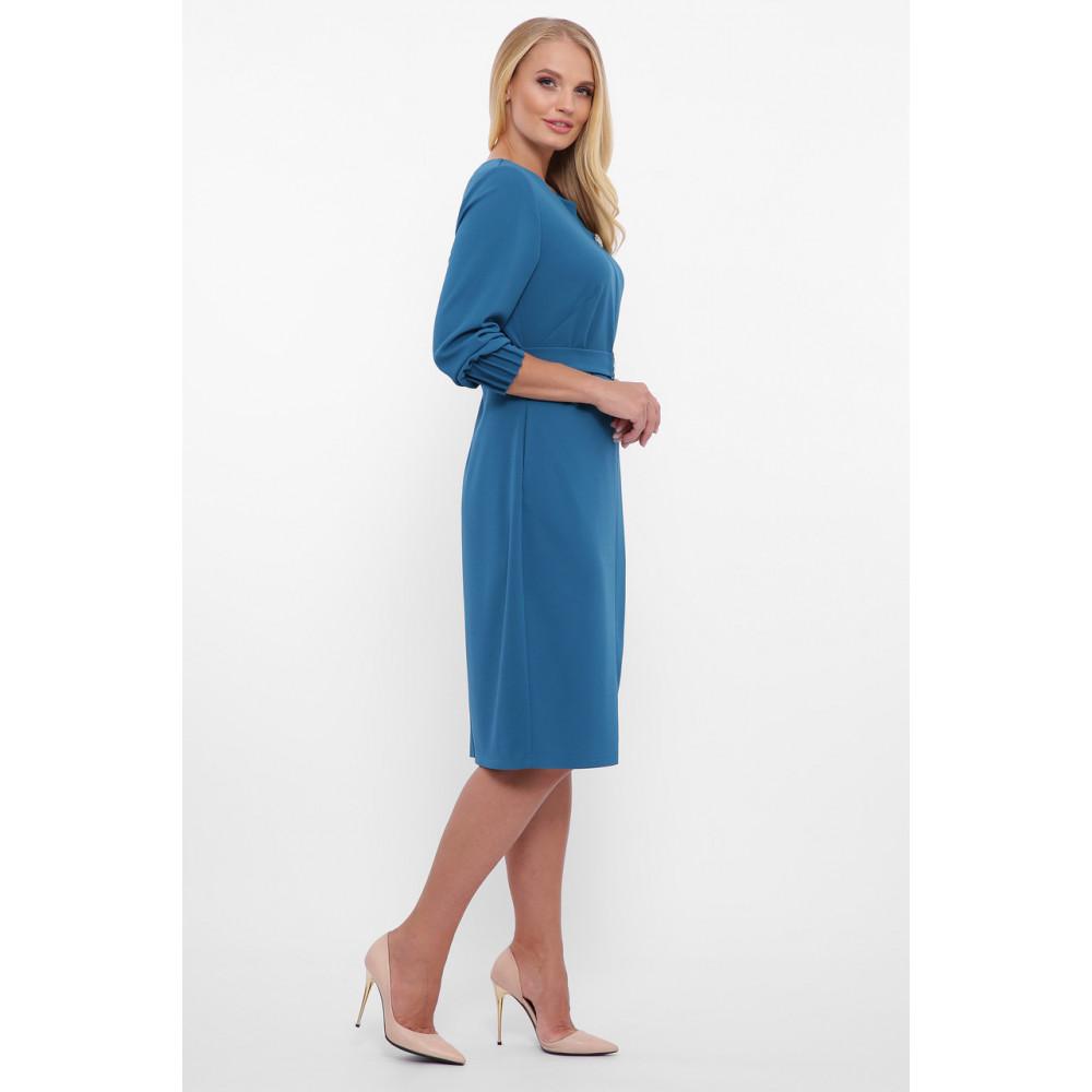 Женственное бирюзовове платье Мадина фото 5