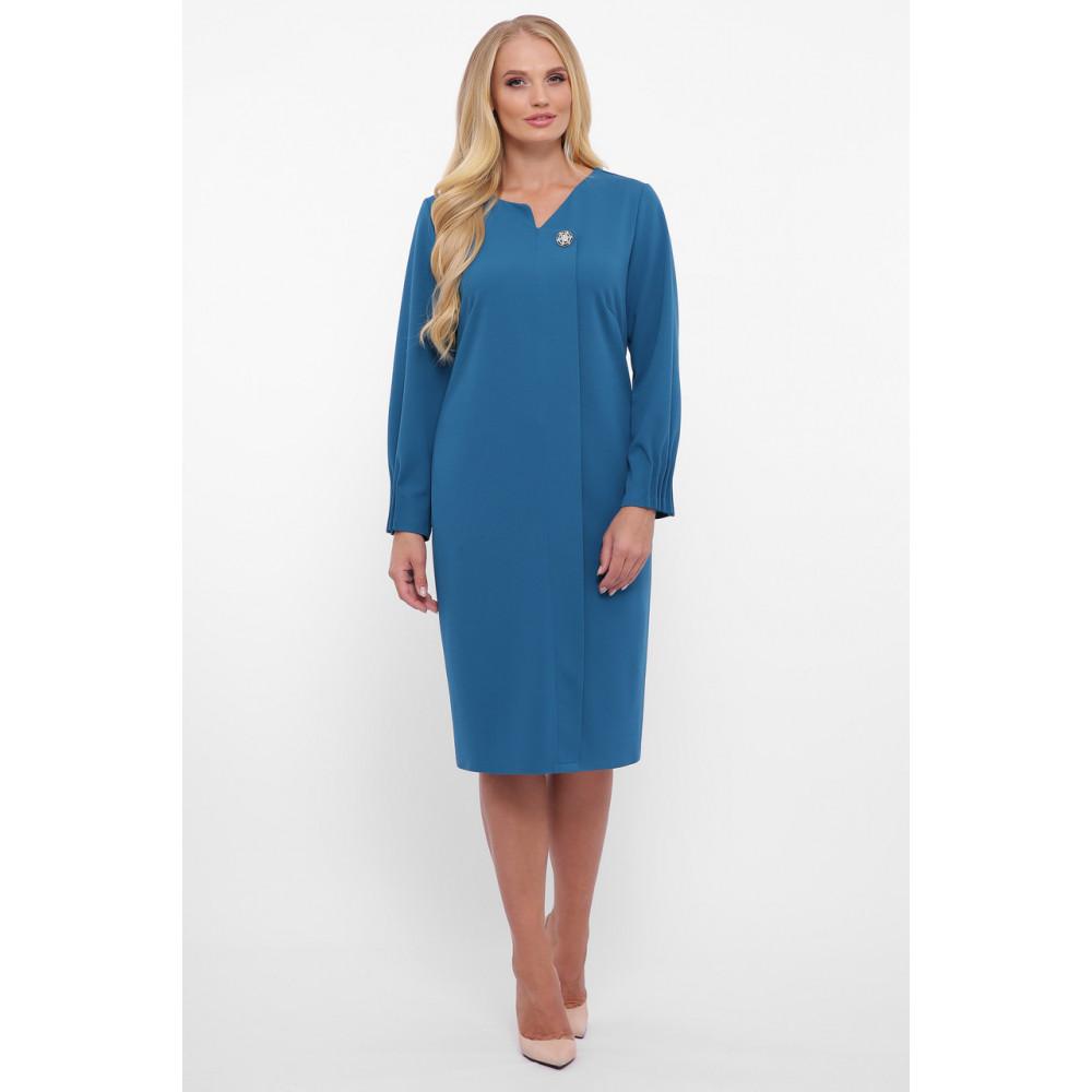 Женственное бирюзовове платье Мадина фото 6