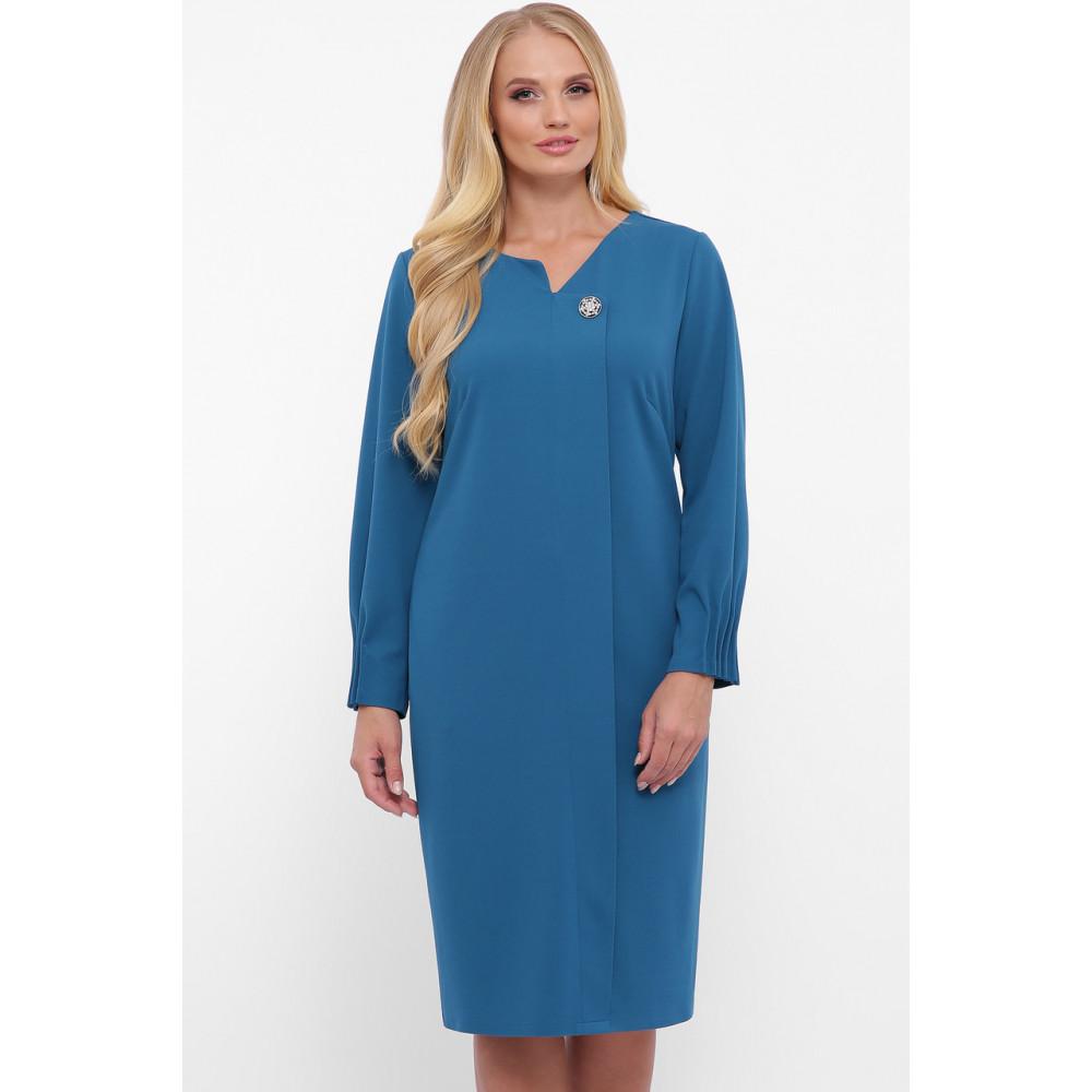 Женственное бирюзовове платье Мадина фото 7