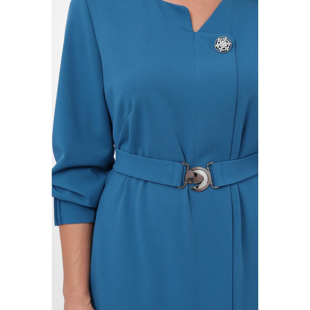 Женственное бирюзовове платье Мадина фото 9