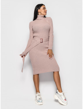 Силуэтное розовое платье Jasmine