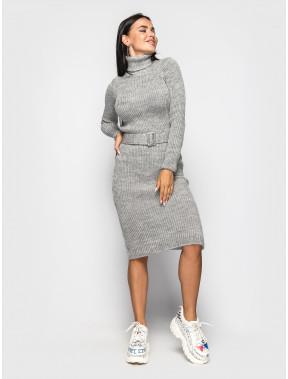 Силуэтное платье-миди Jasmine с поясом