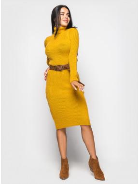 Теплое вязаное платье Jasmine