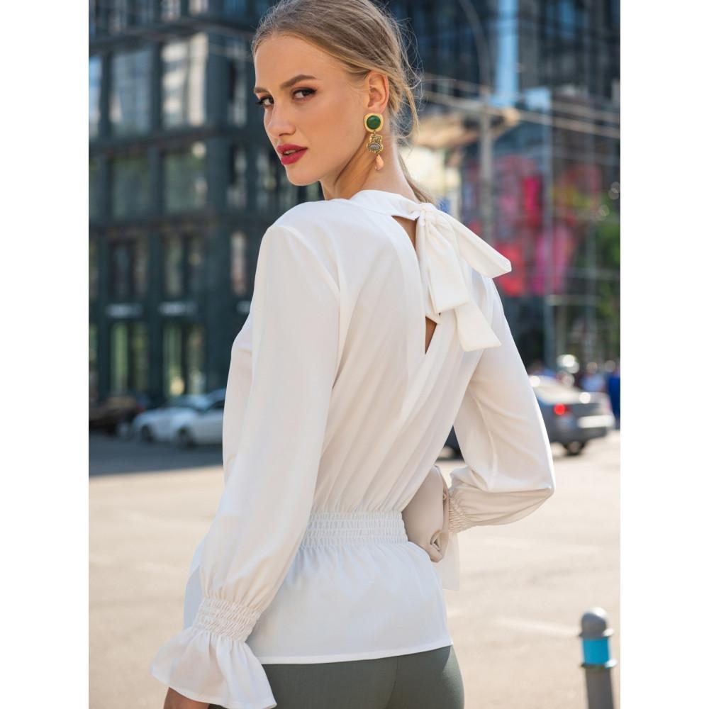Блузка с вырезом на спинке Дилеа фото 1