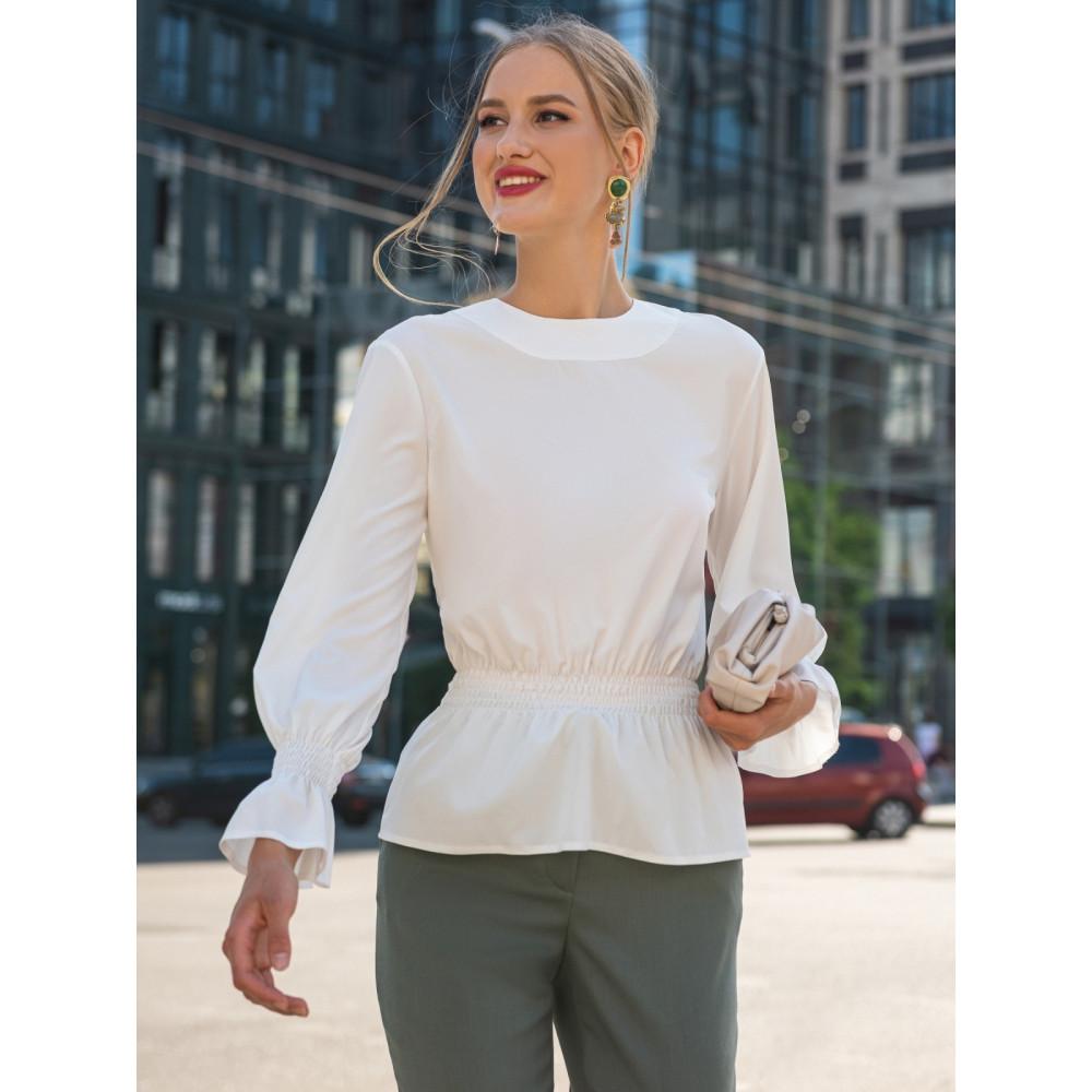 Блузка с вырезом на спинке Дилеа фото 2