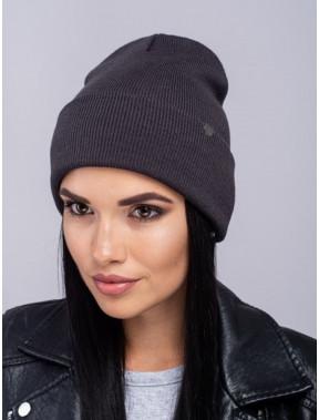 Темно-серая шапка Наоми