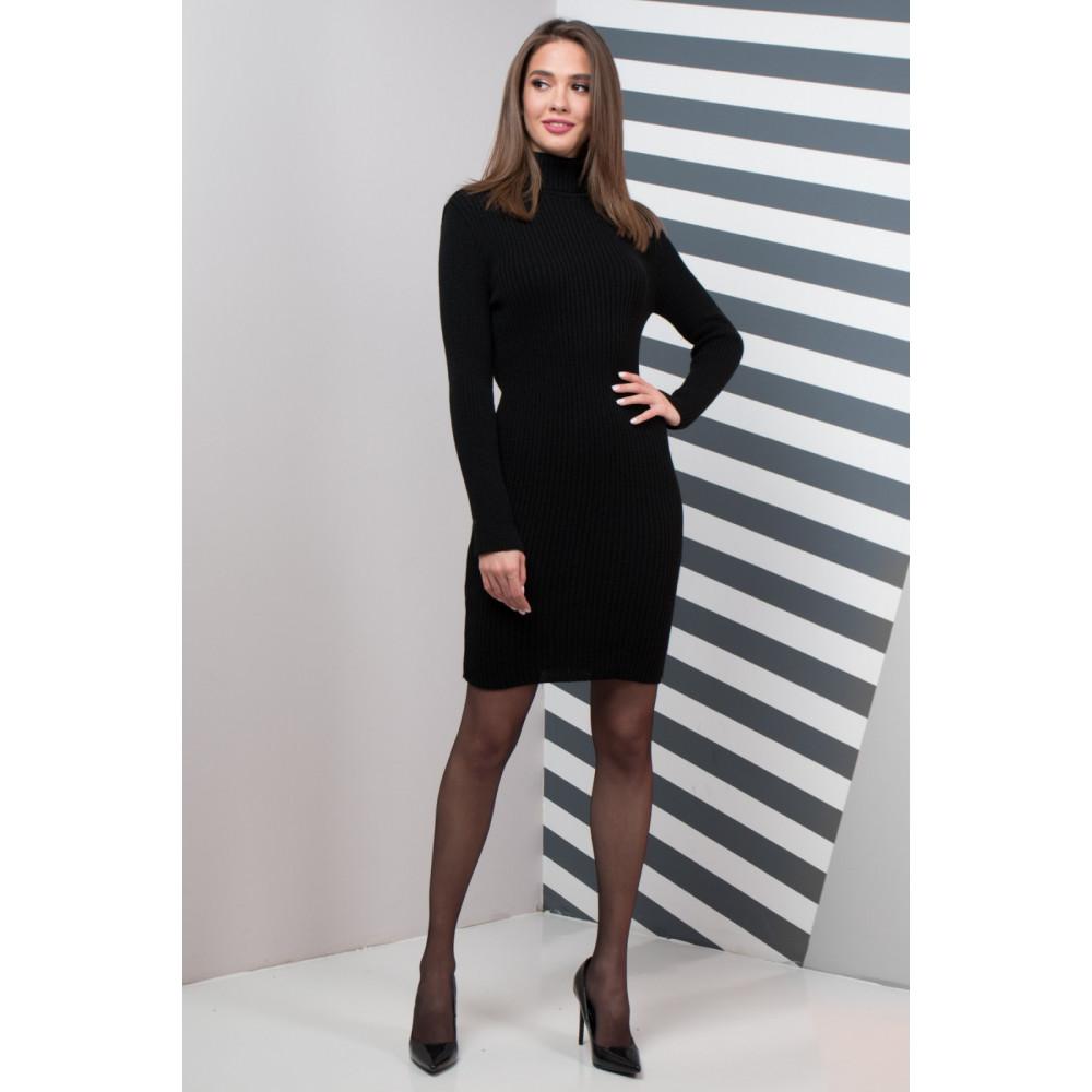 Классическое платье Basic черного цвета фото 1