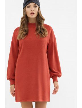 Терракотове платье Талита