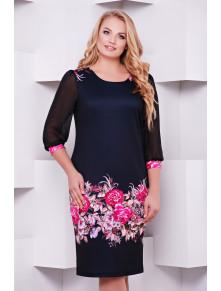 Сукня з яскравими квітами Талса