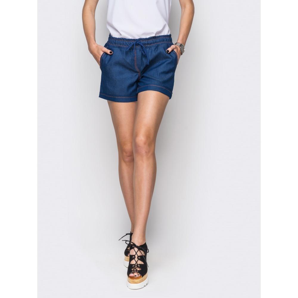 Комфортные джинсовые шорты фото 1