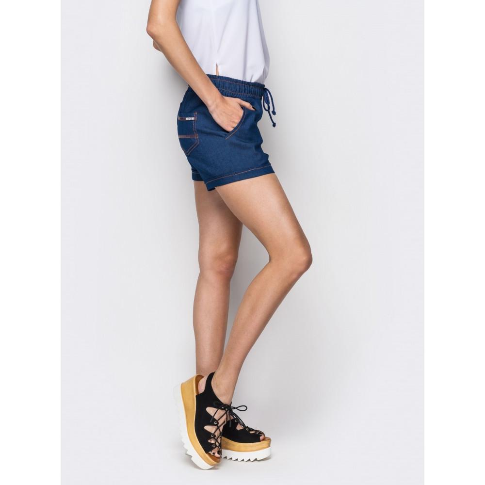 Комфортные джинсовые шорты фото 2