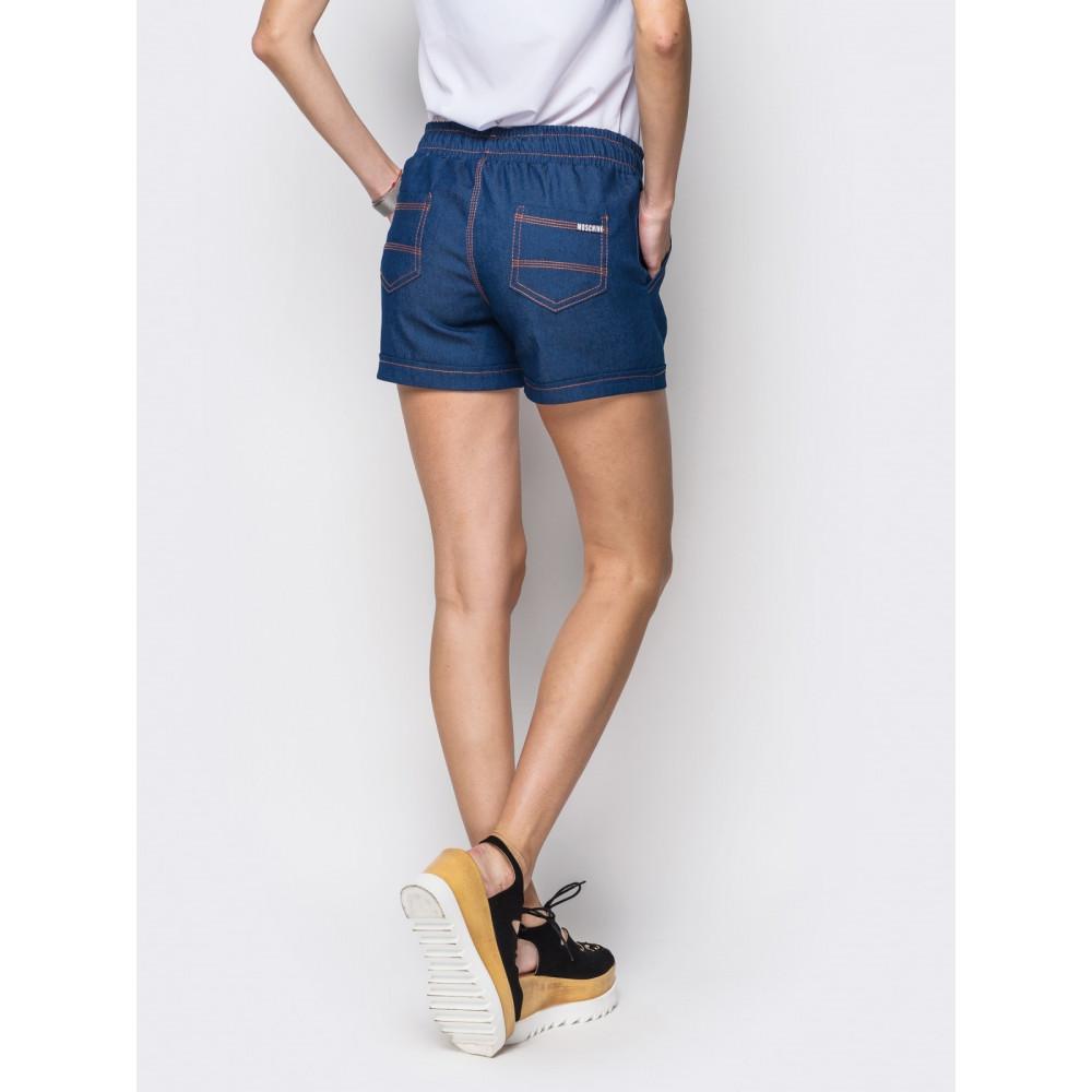 Комфортные джинсовые шорты фото 3