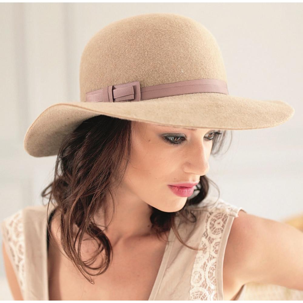 Интересная шляпа с широкими полями 277-4 фото 1