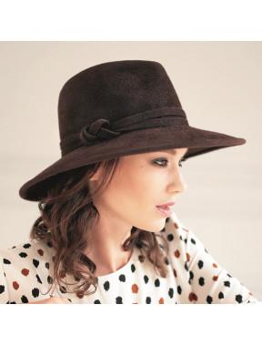 Модний жіночий капелюх федора 318-4